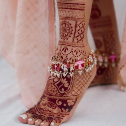 Handcrafted Baraat Anklets